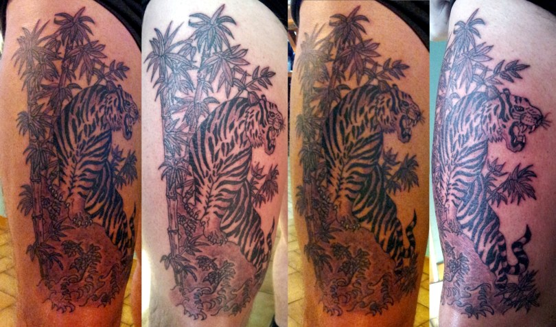 Tiger Tattoo - Tatouage Tigre