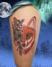 Rox tattoo - Tatouage Renard - France (40)