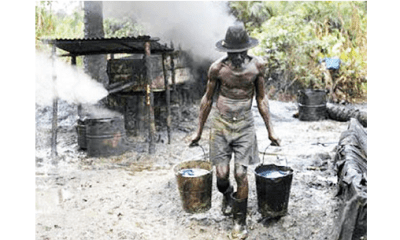 Illegal refinery: FG makes U-turn, intensifies clampdown