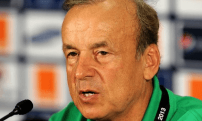 Rohr wants Aina for South Africa game