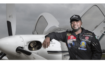 Nigerian pilot, Odujinrin, makes history as first African to fly world solo