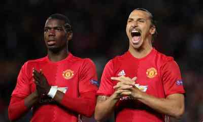 Ibrahimovic happy at United as contract talks continue