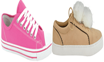 Sneakers: A staple for slay queens