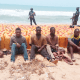 Navy arrests four foreigners on sea