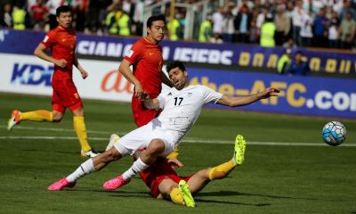 Iran blow hole in China's World Cup bid