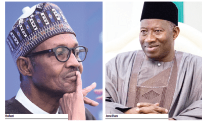 Leave me out of your incompetence, Jonathan tells Buhari
