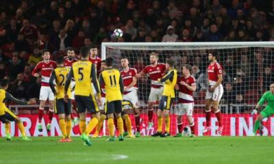 EPL: Arsenal survive Boro scare