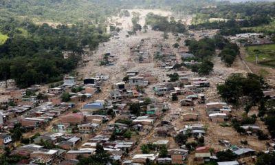 Colombia leader defends landslide rescue effort