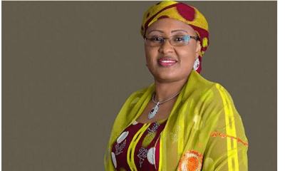 Sickness kept me in London – Aisha Buhari