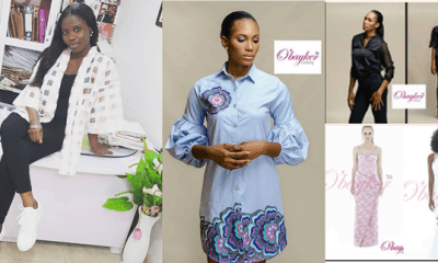 I started sewing with  no formal training  –Oluwatosin Budale
