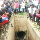 Two burnt, four arrested as sweeper discovers ritual killers' tunnel