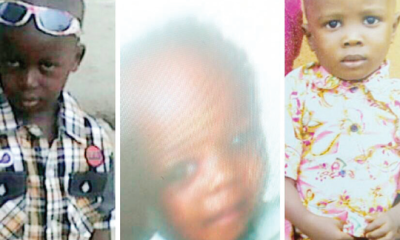 Kidnapped kids: Mother slumps as landlord threatens eviction