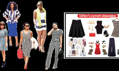 Edgy monochrome stripes