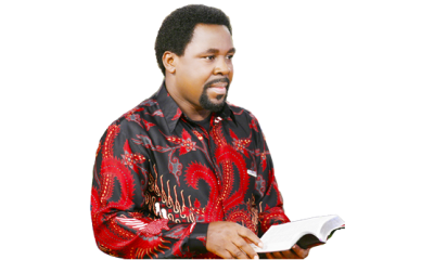 I'm more concerned about touching lives –T.B Joshua