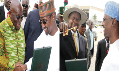 Two honorary citizens of Abuja