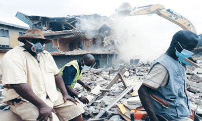 Lagos moves against building collapse