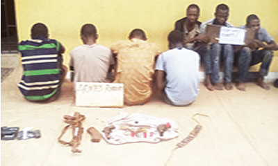 Robbers who shot corporal, arrested trying to sell his rifle