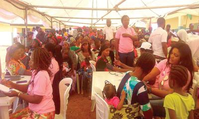 Succour to Kpaduma community