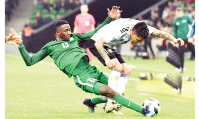 Musa, Shehu to join team after Sallah: Ndidi, Omeruo hit Eagles' camp