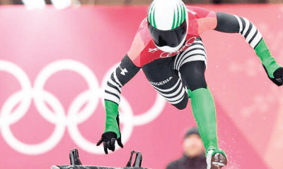 Winter Olympics: Adeagbo's bumpy ride into Olympic history