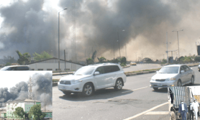 Olusosun: Dumpsite on fire