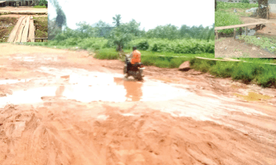 Ijagemo: Deplorable roads, rainy season heighten residents' fear