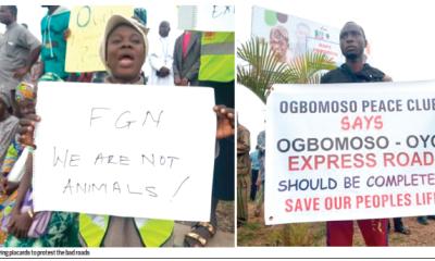 Ogbomoso: Residents groan  over deplorable roads