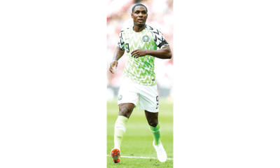 S'Africa vs Nigeria: Ighalo's absence worries Rohr