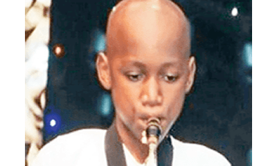 Like father like son! 2Baba's son becomes school's music prefect