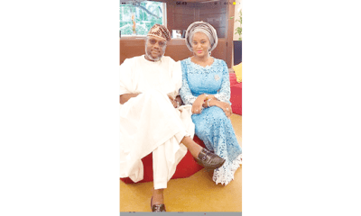 Adekunle Akinlade and wife, Chinenye, celebrate 10th wedding anniversary