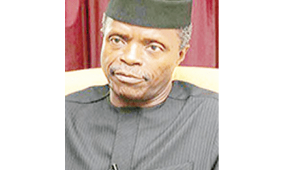 $5.8bn NEMA fraud: Osinbajo has questions to answer – Reps