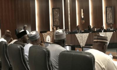 JUST IN: Buhari receives minimum wage committee report