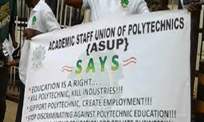 Akanu Ibiam Poly ASUP on strike over unpaid 27-month allowances