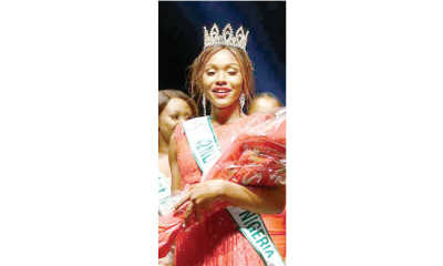 Behold newest celebrity… Chidinma Aaron, Miss Nigeria