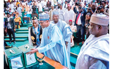 Issues as Buhari presents 2019 budget