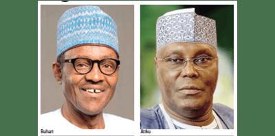 Image result for Atiku vs Buhari