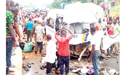 Road accident claims 7 lives in Osun