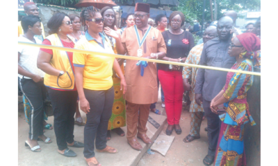 Anthony Village Diamond Lions Club donates public toilet to community