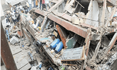 Stamping  out 36,000 precarious buildings