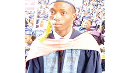 If only my mother were alive to celebrate me… – LASU's best grad