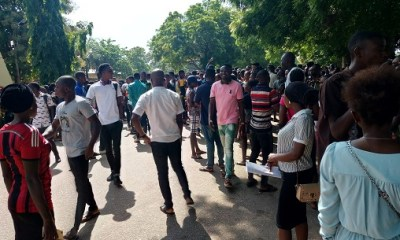 Rufus Giwa Polytechnic shut over lecturers protests of unpaid salary