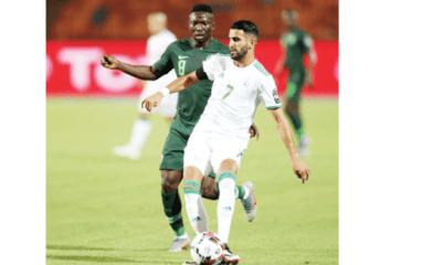 Algeria's Mahrez ends Super Eagles' AFCON hopes