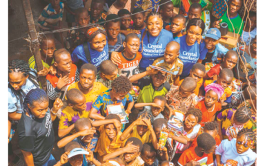 Crystal Foundation puts smile on faces of Makoko pupils