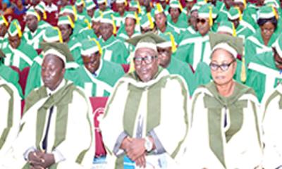 Rector tasks graduating students to sustain standard
