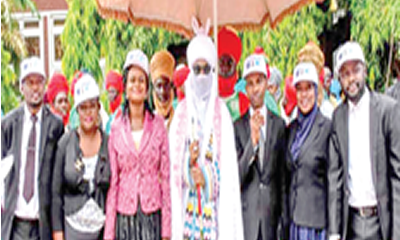 Sanusi hails LARDI for fighting drug abuse
