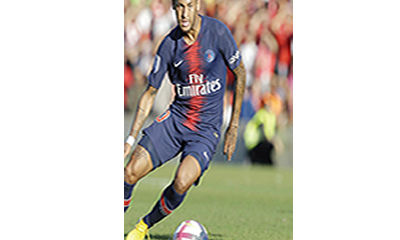 PSG, Inter cl ash puts Ne ymar on spotlight
