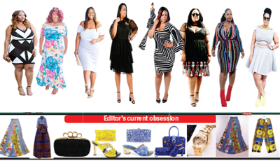 Stylish curvy ladies