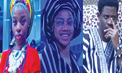 BBNaija 2019: Nigeria excited as housemates dress in native attires