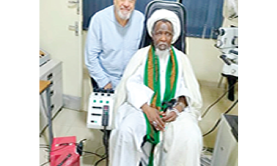 El-Zakzaky: Security cordon around me worse than prison