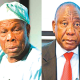 Xenophobia: Obasanjo blasts South Africa